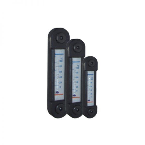 Indicateur de niveau d'huile hydraulique avec jauge de température