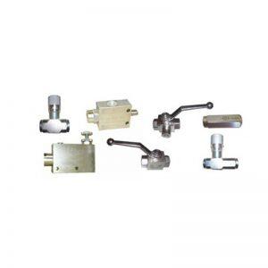 Valves hydrauliques en ligne